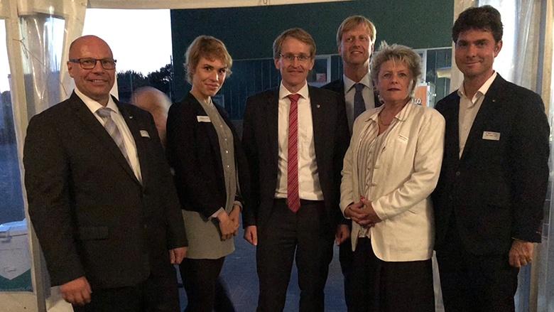 Parlamentarischer Abend mit Ministerpräsident Daniel Günther